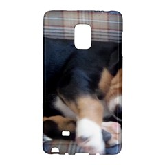 Greater Swiss Mountain Dog Puppy Galaxy Note Edge