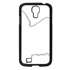 Havanese Silo Color Samsung Galaxy S4 I9500/ I9505 Case (Black)