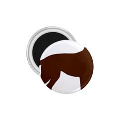 Labrador Retriever Choco Color Silo 1.75  Magnets