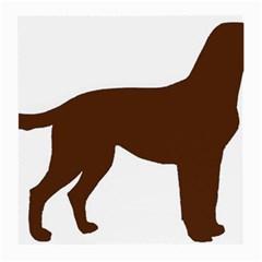 Labrador Retriever Choco Color Silo Medium Glasses Cloth