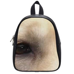 Yellow Labrador Eyes School Bags (Small)