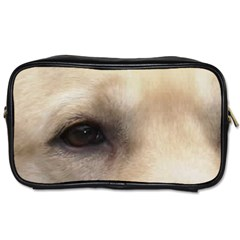 Yellow Labrador Eyes Toiletries Bags 2-Side