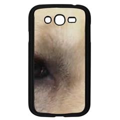 Yellow Labrador Eyes Samsung Galaxy Grand DUOS I9082 Case (Black)
