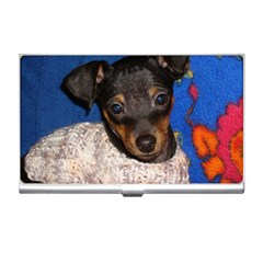 Min Pin In Sweater Business Card Holders
