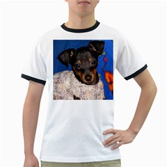 Min Pin In Sweater Ringer T-Shirts