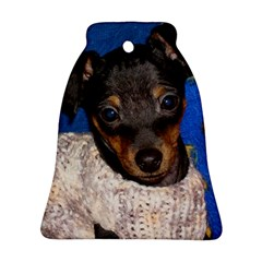 Min Pin In Sweater Ornament (Bell)