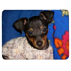 Min Pin In Sweater Samsung Galaxy Tab 7  P1000 Flip Case