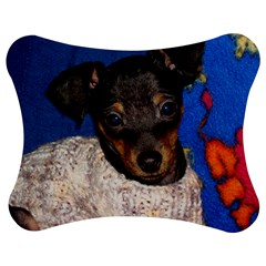 Min Pin In Sweater Jigsaw Puzzle Photo Stand (Bow)