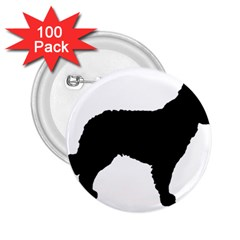 Mudi Fekete Silhouette 2.25  Buttons (100 pack)