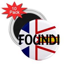 Newfoundland Name Flag 2.25  Magnets (10 pack)