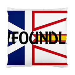 Newfoundland Name Flag Standard Cushion Case (Two Sides)