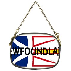 Newfoundland Name Flag Chain Purses (Two Sides)
