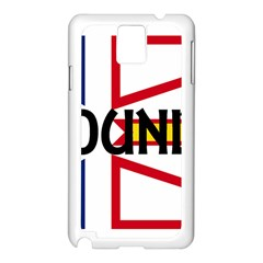 Newfoundland Name Flag Samsung Galaxy Note 3 N9005 Case (White)