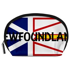 Newfoundland Name Flag Accessory Pouches (Large)