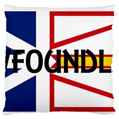 Newfoundland Name Flag Standard Flano Cushion Case (One Side)