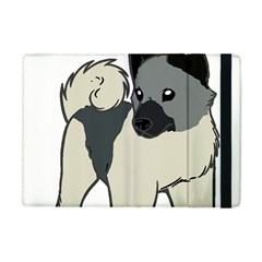 Norwegian Elkhound Cartoon Apple iPad Mini Flip Case