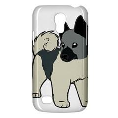 Norwegian Elkhound Cartoon Galaxy S4 Mini