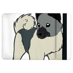 Norwegian Elkhound Cartoon iPad Air 2 Flip