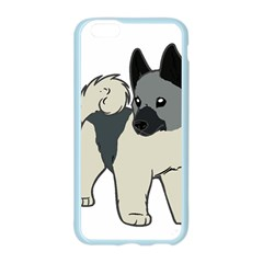 Norwegian Elkhound Cartoon Apple Seamless iPhone 6/6S Case (Color)