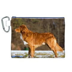 Duck Toller Full Canvas Cosmetic Bag (XL)