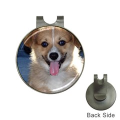 Pembroke Welsh Corgi Puppy Hat Clips with Golf Markers
