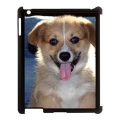 Pembroke Welsh Corgi Puppy Apple iPad 3/4 Case (Black)