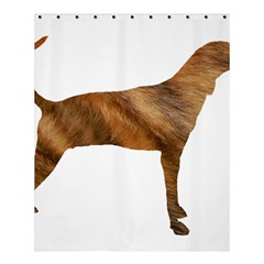 Plott Hound Brindle Silhouette Shower Curtain 60  x 72  (Medium)