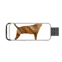 Plott Hound Brindle Silhouette Portable USB Flash (Two Sides)
