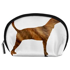 Plott Hound Brindle Silhouette Accessory Pouches (Large)