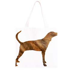 Plott Hound Brindle Silhouette Grocery Light Tote Bag