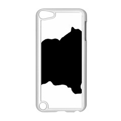 Pomerainian Silo Black Apple iPod Touch 5 Case (White)