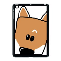 Peeping Shiba Apple iPad Mini Case (Black)