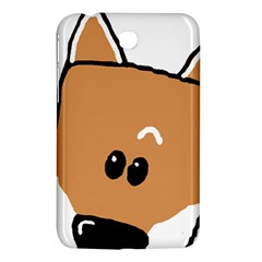 Peeping Shiba Samsung Galaxy Tab 3 (7 ) P3200 Hardshell Case