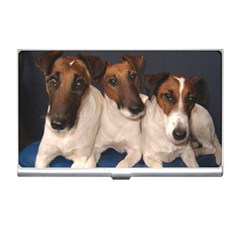 Smooth Fox Terrier Group Business Card Holders