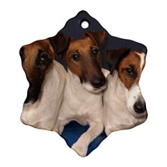Smooth Fox Terrier Group Ornament (Snowflake)