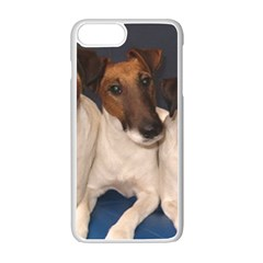 Smooth Fox Terrier Group Apple iPhone 7 Plus White Seamless Case