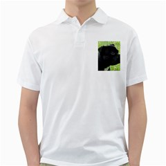 Staffy black Golf Shirts