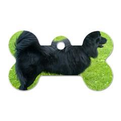 Swedish Lapphund Full Dog Tag Bone (One Side)