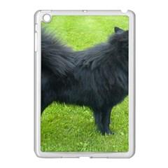 Swedish Lapphund Full Apple iPad Mini Case (White)
