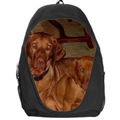 2 Vizslas Backpack Bag