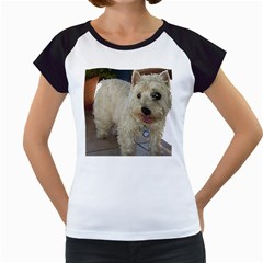 Westie Full Women s Cap Sleeve T