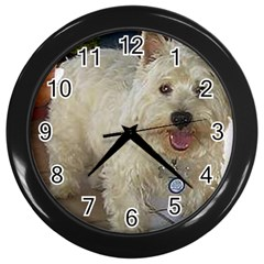 Westie Full Wall Clocks (Black)