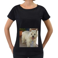 Westie Full Women s Loose-Fit T-Shirt (Black)