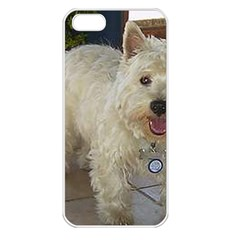 Westie Full Apple iPhone 5 Seamless Case (White)