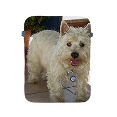 Westie Full Apple iPad 2/3/4 Protective Soft Cases