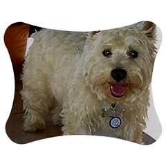 Westie Full Jigsaw Puzzle Photo Stand (Bow)