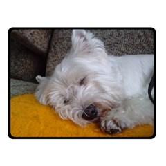 Westy Sleeping Fleece Blanket (Small)