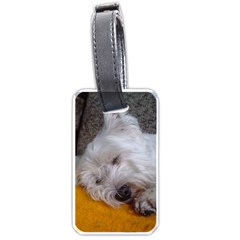 Westy Sleeping Luggage Tags (One Side)