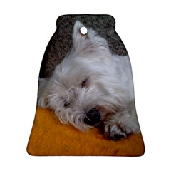 Westy Sleeping Ornament (Bell)