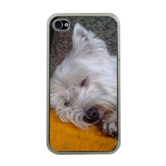 Westy Sleeping Apple iPhone 4 Case (Clear)